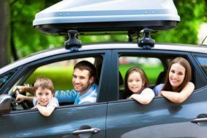 alquiler de auto para viajar con niños