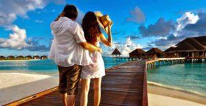 luna de miel en islas maldivas