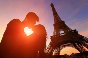 luna de miel en parís francia
